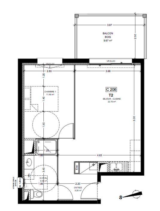 Ondres Vente Appartement 2 pièces